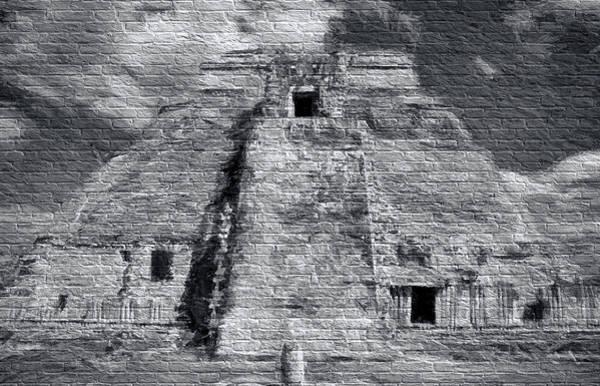 Chichen Digital Art - Mayan Graffiti by Roy Pedersen