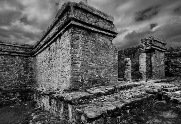 Photograph - Mayan Ruin by Julian Cook