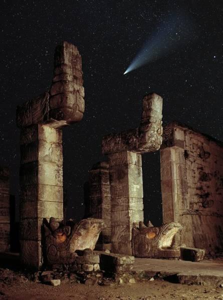 Chichen Itza Photograph - Mayan Ruins by David Parker/science Photo Library
