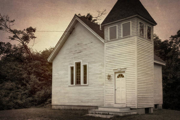 Wooden Church Wall Art - Photograph - Maybe A Church by Joan Carroll