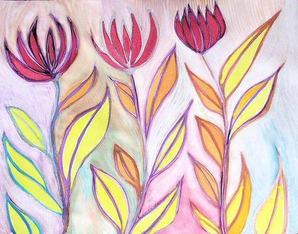 Dandilions Painting - Maybe This Time by Dandilion Song