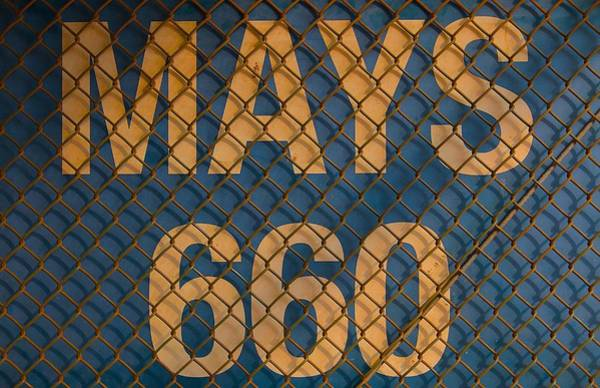 College Baseball Photograph - Mays 660 by Michael Blesius