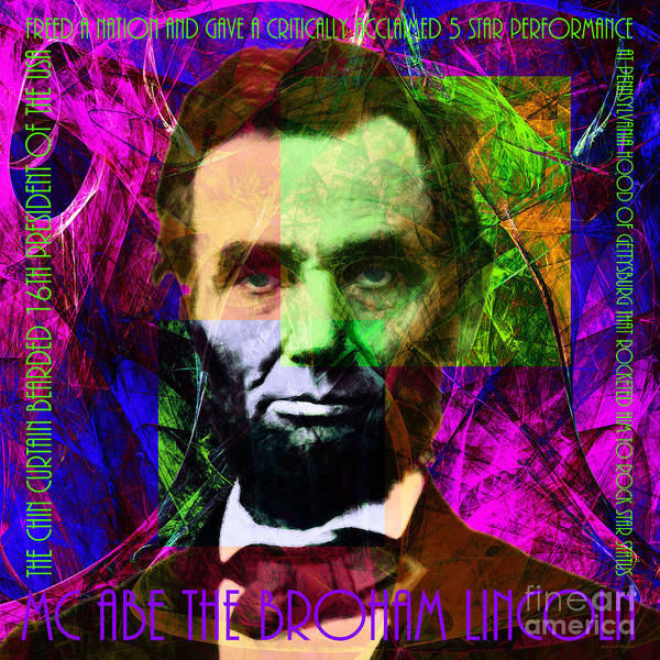 Photograph - Mc Abe The Broham Lincoln 20140217m88 by Wingsdomain Art and Photography