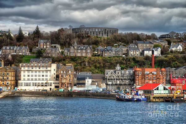 Photograph - Mccaig's Tower At Oban by Lois Bryan