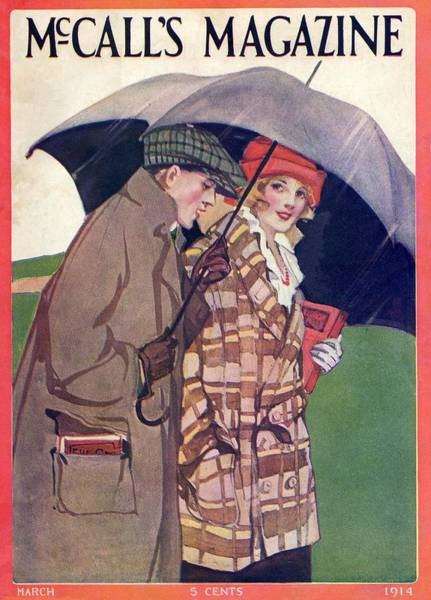 Painting - Mccalls Vintage Magazine March 1914 by Movie Poster Prints