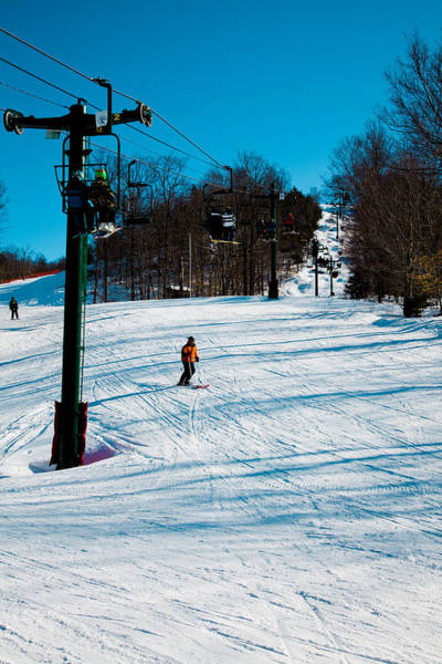 Photograph - Mccauley Mountain Ski Area Iv- Old Forge New York by David Patterson