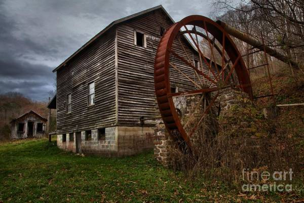 Photograph - Mcclungs Grist Mill West Virginia by Adam Jewell