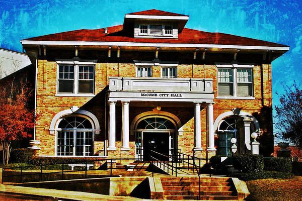 Photograph - Mccomb City Hall by Jim Albritton