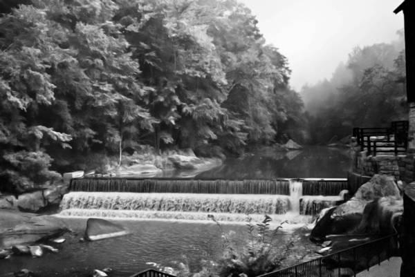 Photograph - Mcconnell Mills B W Wat 255 by G L Sarti