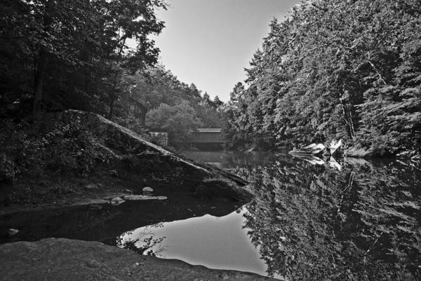 Photograph - Mcconnell Mills Bw Wat 238 by G L Sarti