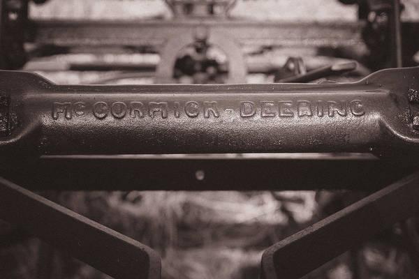 Photograph - Mccormick Deering by Chris Bordeleau