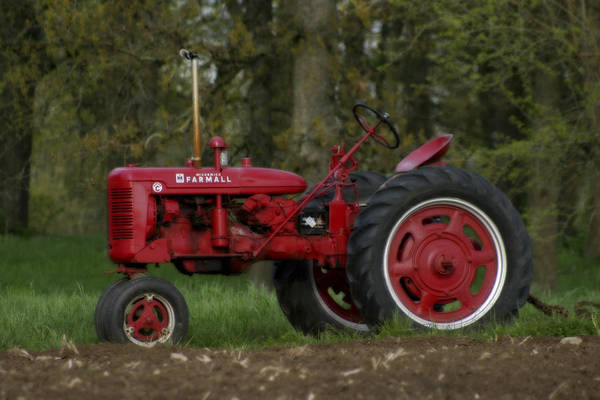 Photograph - Mccormick Farmall by CE Haynes
