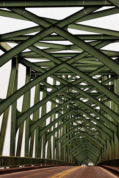 Photograph - Mccullough Memorial Bridge by Michelle Calkins