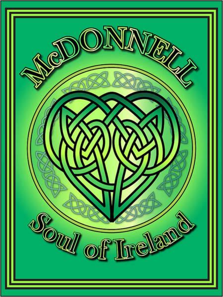 Wall Art - Digital Art - Mcdonnell Soul Of Ireland by Ireland Calling