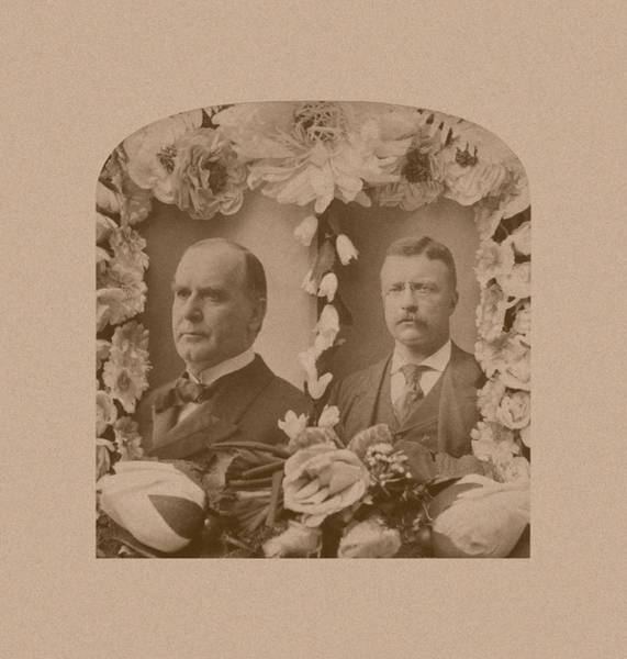 Wall Art - Photograph - Mckinley And Roosevelt by War Is Hell Store