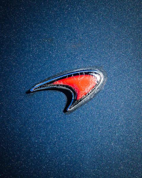 Photograph - Mclaren Emblem -0247c45 by Jill Reger