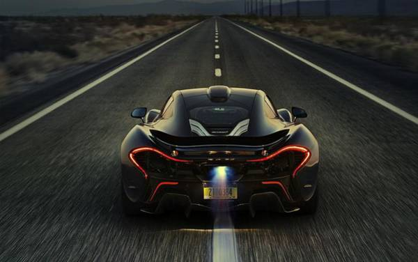 Photograph - Mclaren P1 2014 by Movie Poster Prints