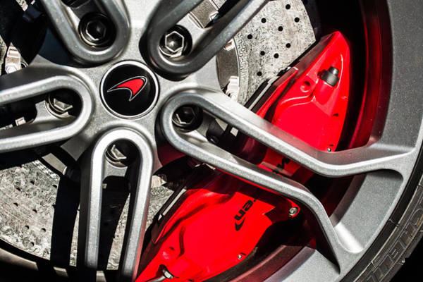 Photograph - Mclaren Wheel Emblem -0082c by Jill Reger