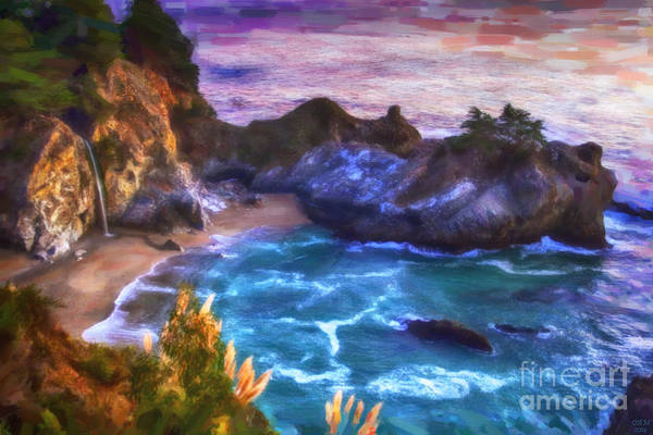 Painting - Mcway Falls by David Millenheft