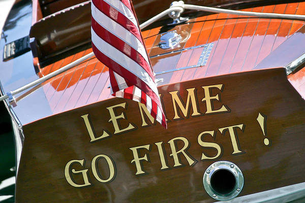 Photograph - Me First by Steven Lapkin