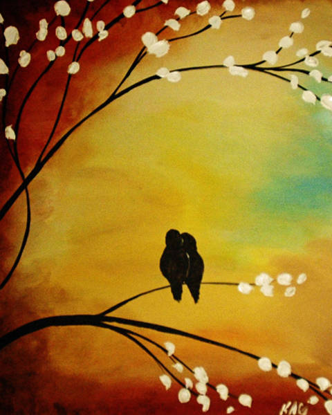 Kag Wall Art - Painting - Me Too by Gina Cooper