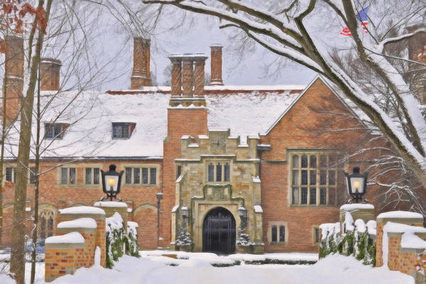 Painting - Meadowbrook Hall by Dean Wittle