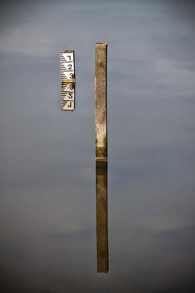 Gauge Photograph - Measuring Stick by Nigel Jones