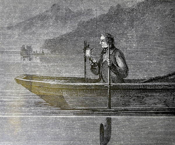 Lake Geneva Photograph - Measuring The Velocity Of Sound In Water by Universal History Archive/uig