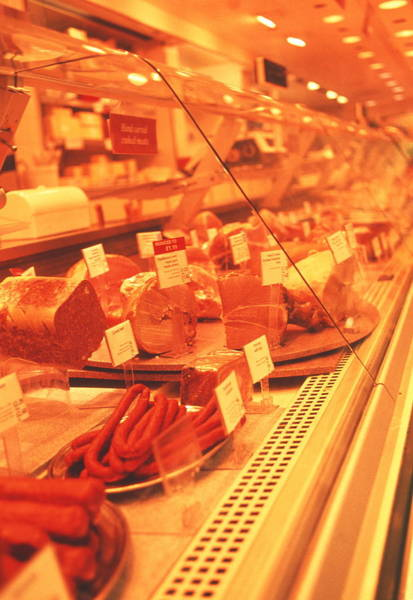 Delicatessen Photograph - Meat Products by Annabella Bluesky/science Photo Library