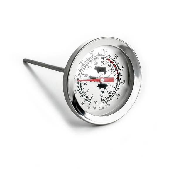 Thermometer Wall Art - Photograph - Meat Thermometer by Science Photo Library