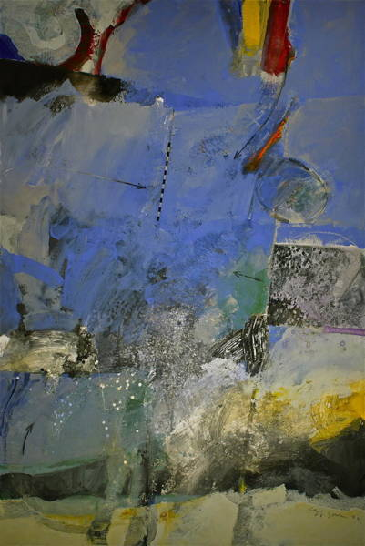 Painting - Meatier Illogical Cold Front by Cliff Spohn