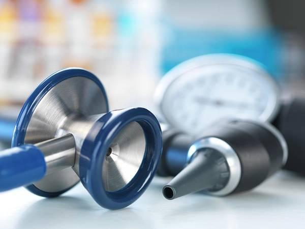 Pressure Wall Art - Photograph - Medical Instruments by Tek Image