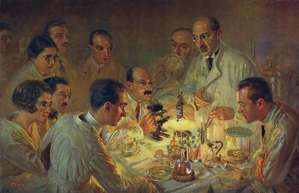Wall Art - Photograph - Medical Research by Gregory Tobias/chemical Heritage Foundation/science Photo Library