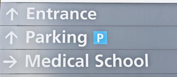 Notice Board Photograph - Medical School by Tom Gowanlock