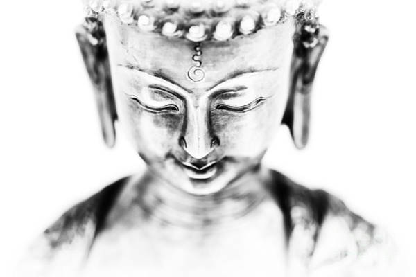 Buddhism Wall Art - Photograph - Medicine Buddha Monochrome by Tim Gainey