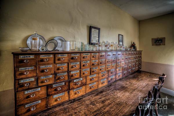 Notice Photograph - Medicine Cabinet by Adrian Evans