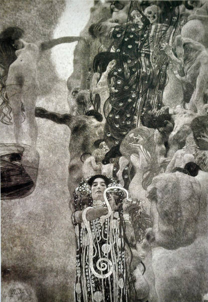 Painting - Medicine by Gustav Klimt