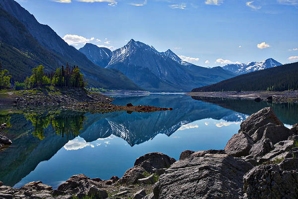 Photograph - Medicine Lake by Stuart Litoff