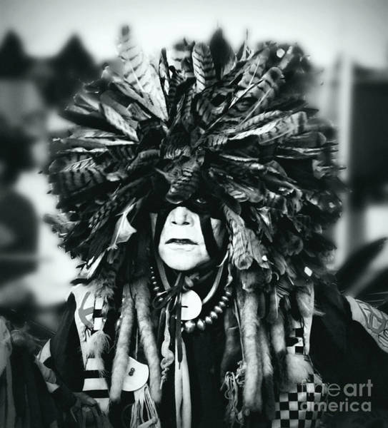 Wall Art - Photograph - Medicine Man Silver Screen by Scarlett Images Photography