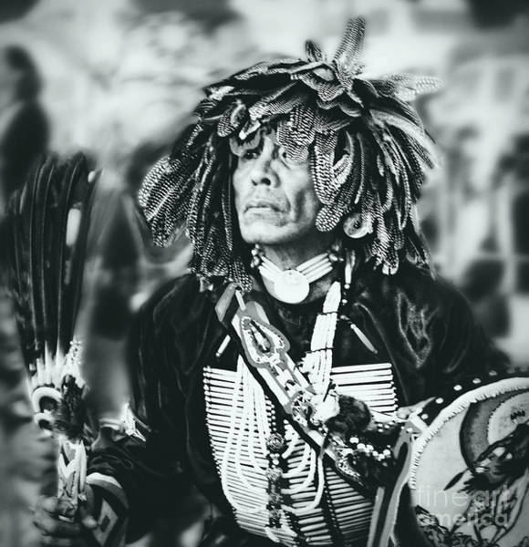 Wall Art - Photograph - Medicine Man Silver Screen Tone by Scarlett Images Photography