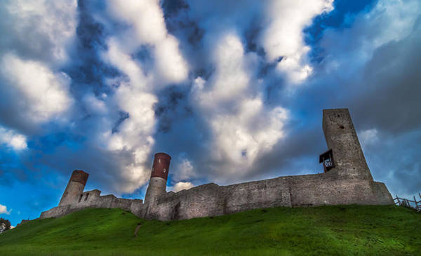 Medieval Castle In Checiny In Poland Art Print