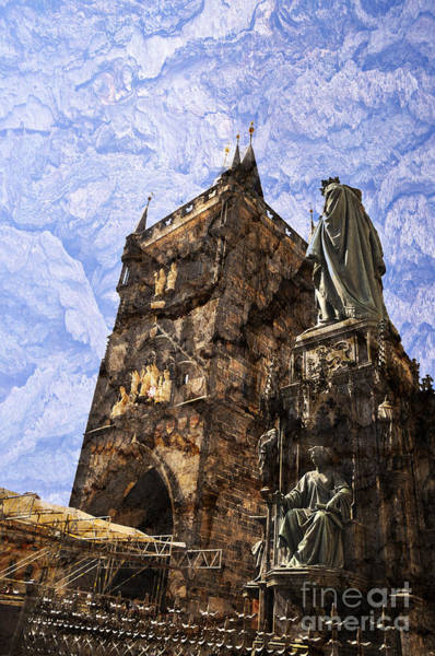 Photograph - Medieval Charles Bridge by Brenda Kean