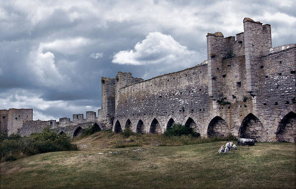 Photograph - Medieval City Wall Defence by Dreamland Media
