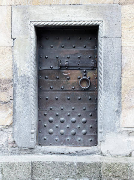 Privacy Photograph - Medieval Door by ????? ???????