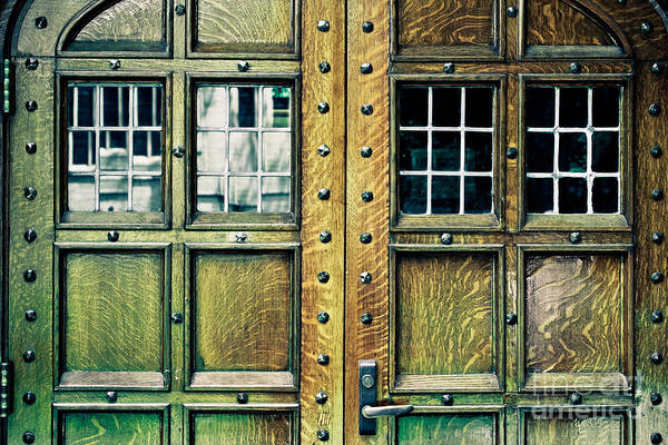 Wall Art - Photograph - Medieval Doors by Colleen Kammerer
