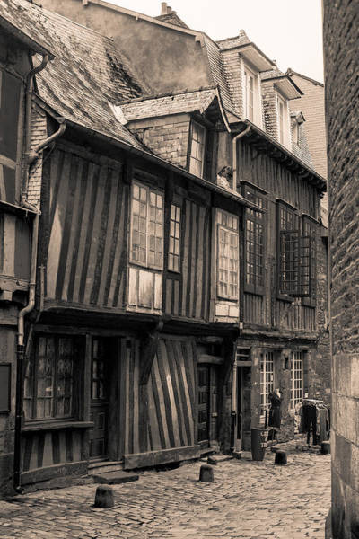 Wall Art - Photograph - Medieval Shops In Rennes by W Chris Fooshee