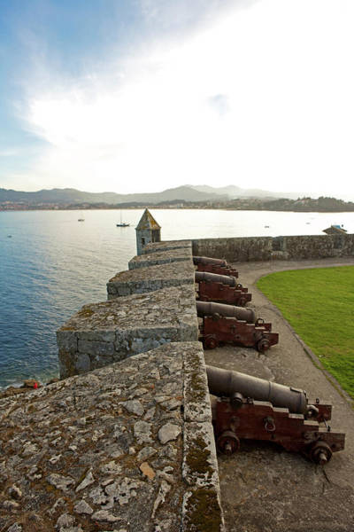 Galicia Photograph - Medieval Walled Fort by Oliver Strewe