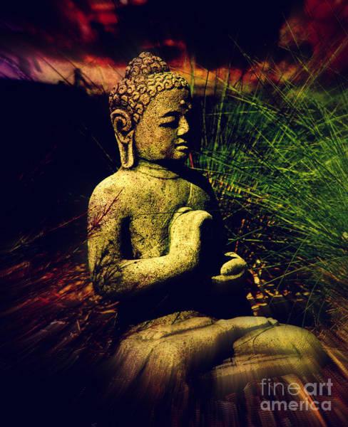 Wall Art - Photograph - Meditating Buddha by Susanne Van Hulst