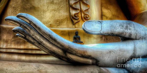 Buddha Statue Photograph - Meditation  by Adrian Evans