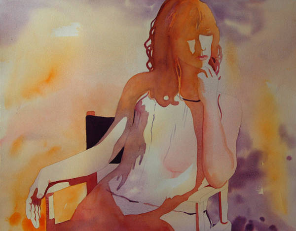 Painting - Meditation by Terry Holliday